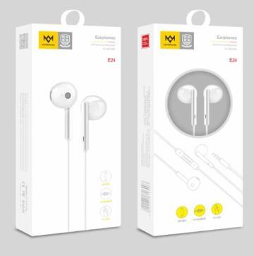 明派 E24 高音质半入耳式华为耳机