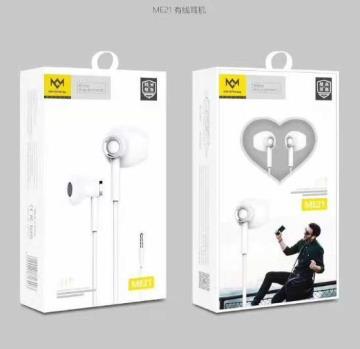 明派 ME21高品质平耳式苹果耳机