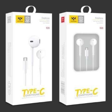 明派 E23 高品质平耳式 TYPE-C耳机